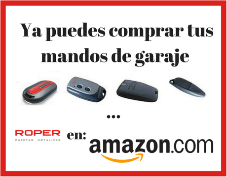 Compra tus mandos de garaje roper en amazon