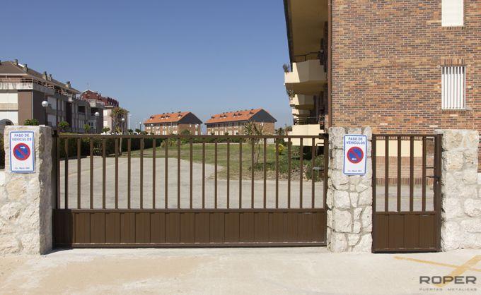 Puertas metalicas correderas precios excellent free for Puertas metalicas precios
