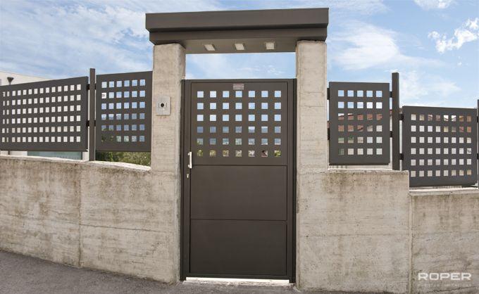 Puerta peatonal roper - Puertas metalicas roper ...