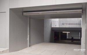 Puerta de Garaje Basculante 2 Hojas Comunitaria