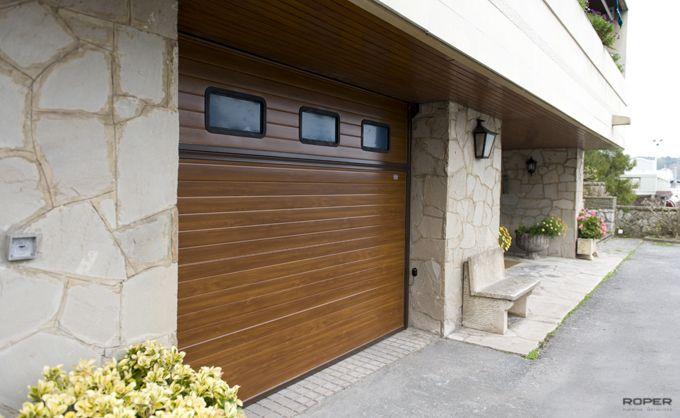 Puerta de Garaje Basculante 2 Hojas Residencial 6