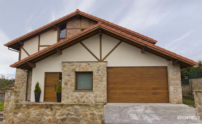Puerta de Garaje Basculante 2 Hojas Residencial 8