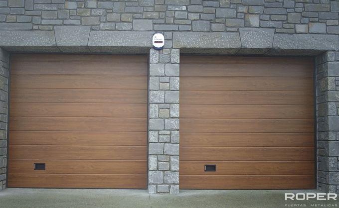 Puerta de Garaje Seccional Residencial 23