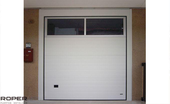 Puerta de Garaje Seccional Residencial 25