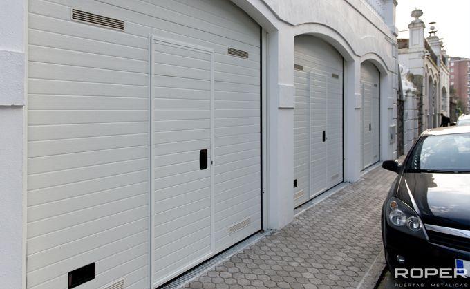Puerta de Garaje Seccional Residencial 26