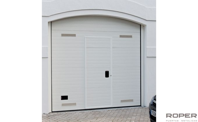 Motor puerta garaje seccional awesome garaje ventana - Motor puerta garaje seccional ...