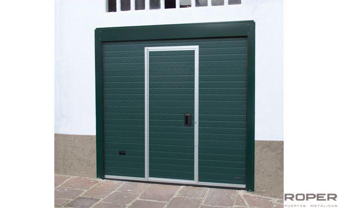 Puerta de Garaje Seccional Residencial 30