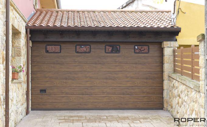 Puerta de Garaje Seccional Residencial 32