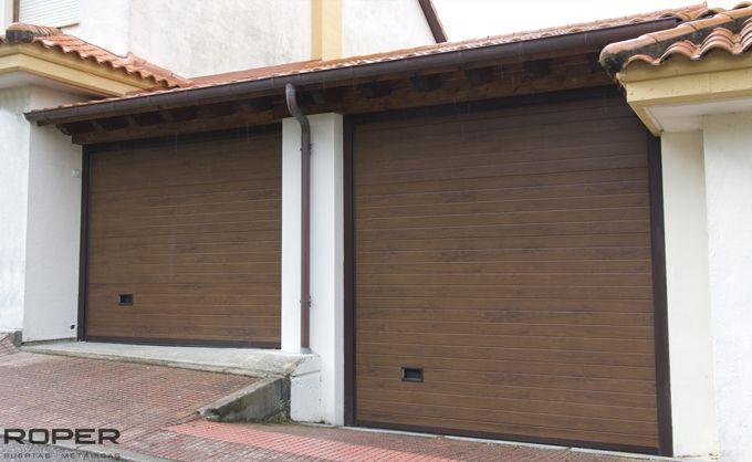 Puerta de Garaje Seccional Residencial 35