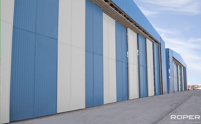 Puerta Corredera Industrial 9