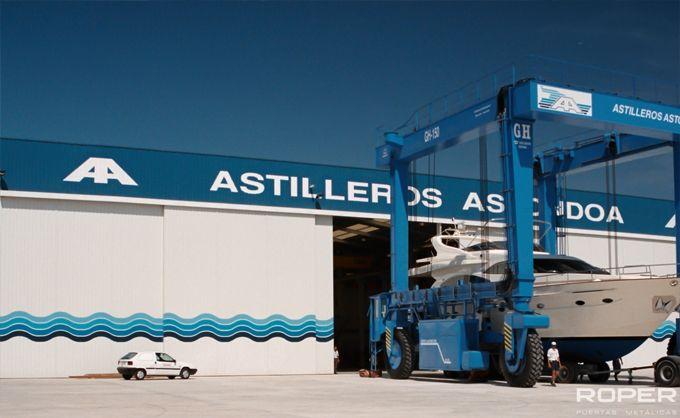 Puerta Corredera Industrial 10