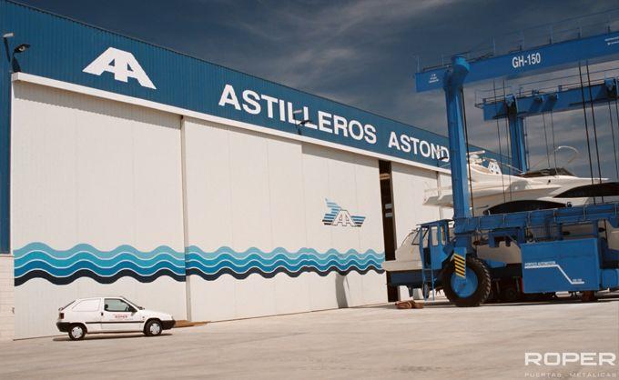 Puerta Corredera Industrial 11