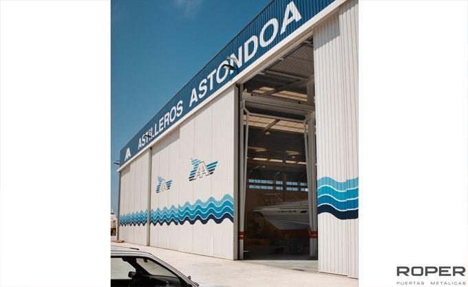 Puerta Corredera Industrial 12