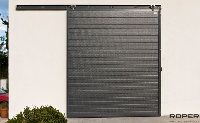 Puerta corredera industrial roper - Puertas metalicas roper ...