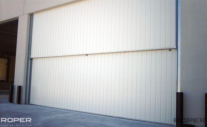 Puerta Guillotina Industrial 6