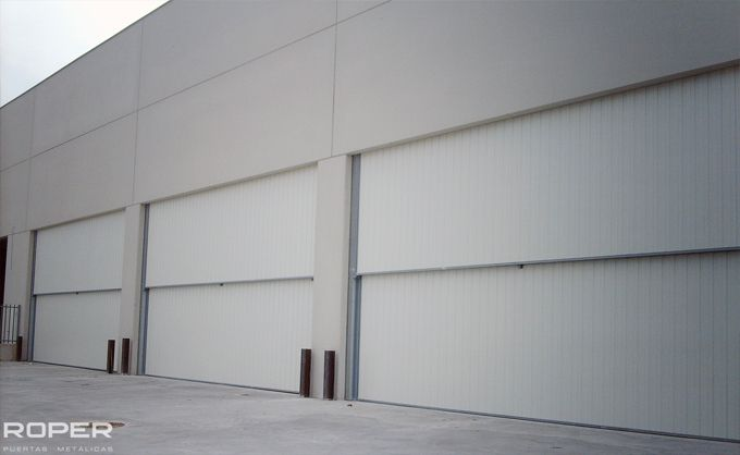 Puerta Guillotina Industrial 7