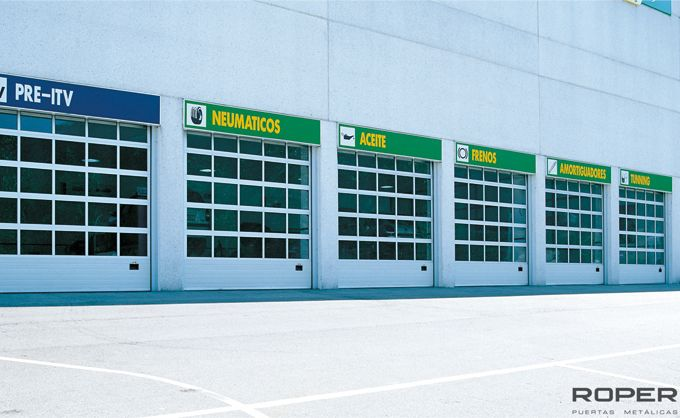 Puerta Seccional Industrial 10