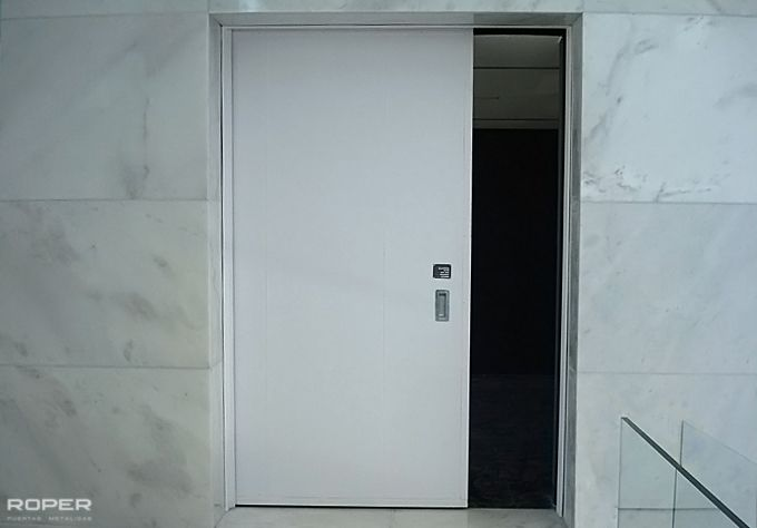 Puerta Corredera Cortafuegos 1