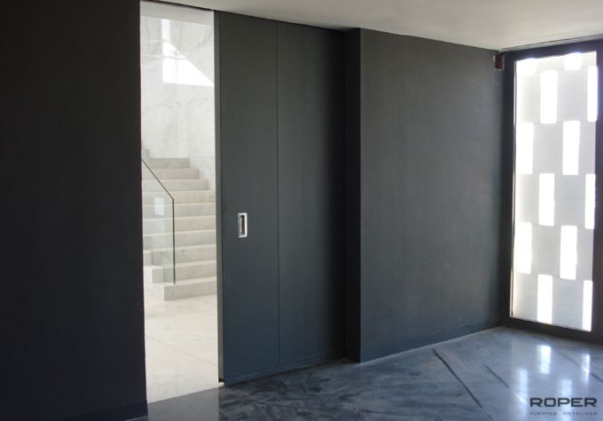 Puerta corredera cortafuegos roper - Normativa barandillas exteriores ...