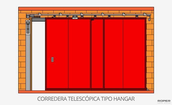 Puerta Corredera Cortafuegos 10
