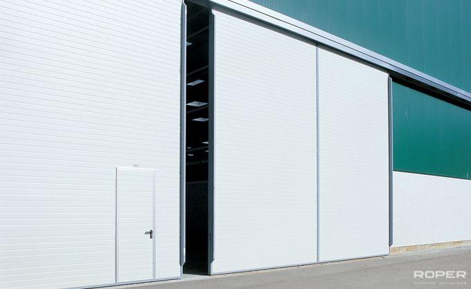puerta corredera industrial roper