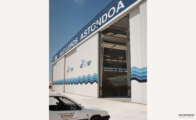 Puerta Corredera Industrial 5