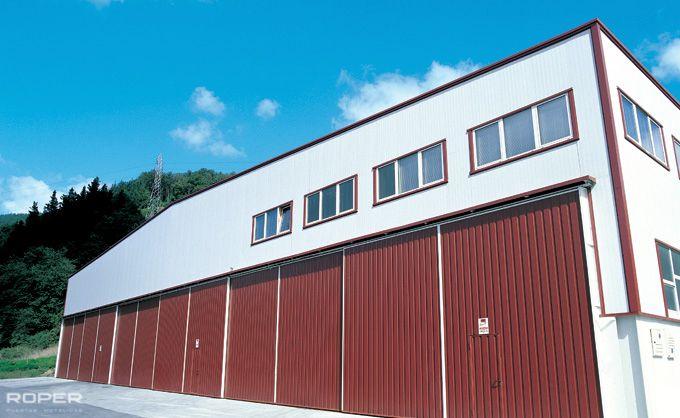 Puerta Corredera Industrial 6
