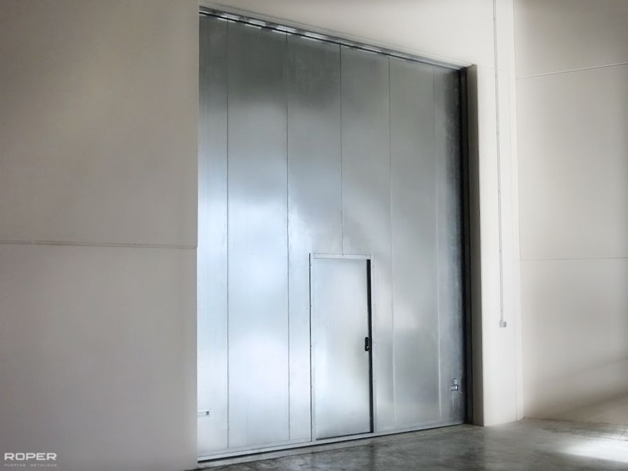 puerta guillotina cortafuegos roper