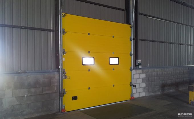 Puerta Seccional Industrial 8