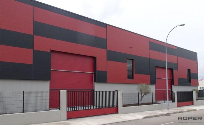 Puerta Guillotina Industrial 5