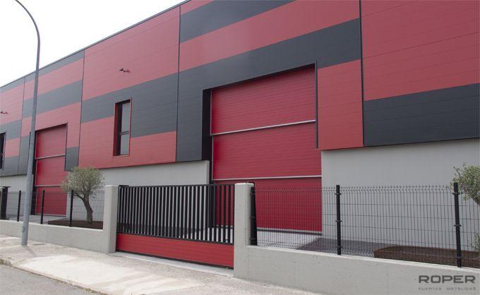 Puerta Guillotina Industrial 3