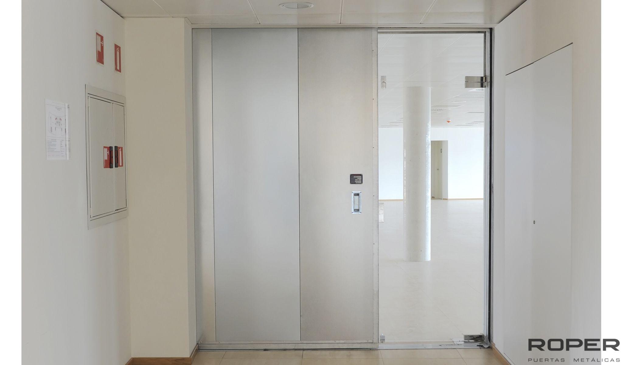 Conoce los tipos de puertas cortafuego - Tipos de puertas correderas ...