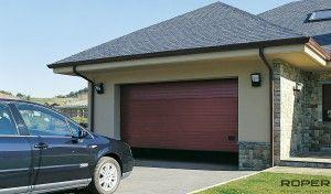 puertas de garaje seccional residencial
