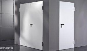 puerta batiente cortafuego