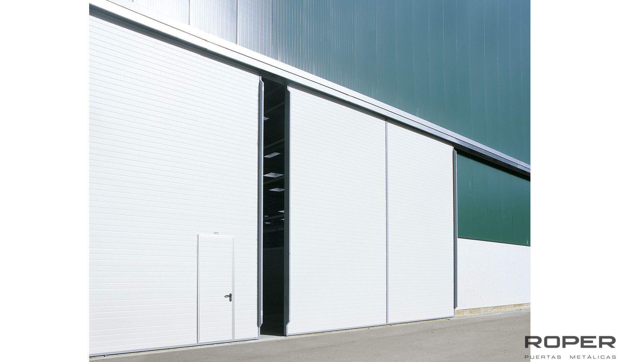 puertas corredera industrial automtica - Tipos De Puertas Correderas