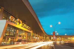 Puertas Roper en el aeropuerto de El Dorado