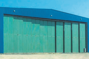 Puertas Roper en el aeropuerto de Ben Slimane