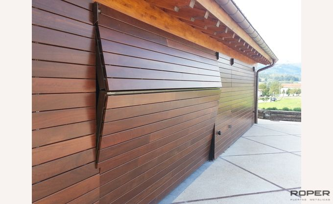 Residential 2-Leaf Up-and-Over Garage Door 2