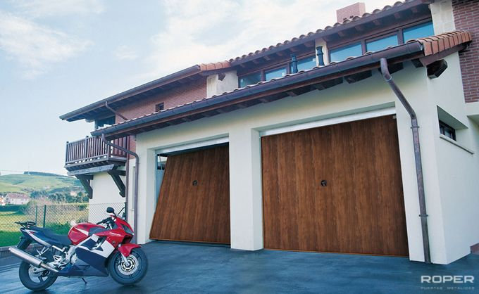 Residential Up-and-Over Garage Door 2