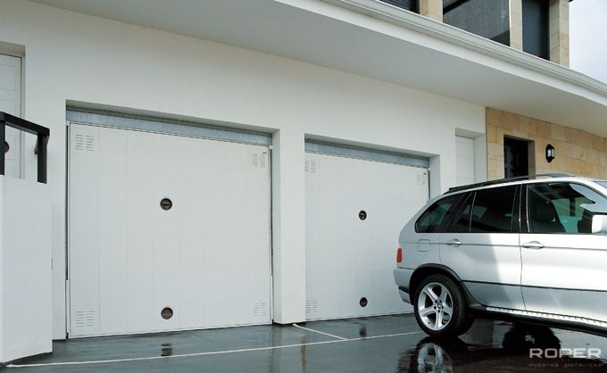 Residential Up-and-Over Garage Door 6