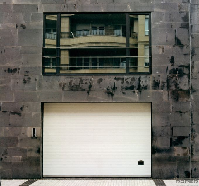 Communal Sectional Garage Door