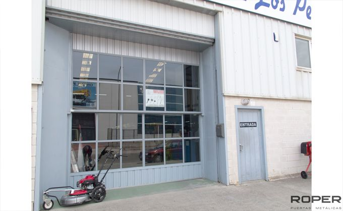 Puerta Guillotina Industrial 8