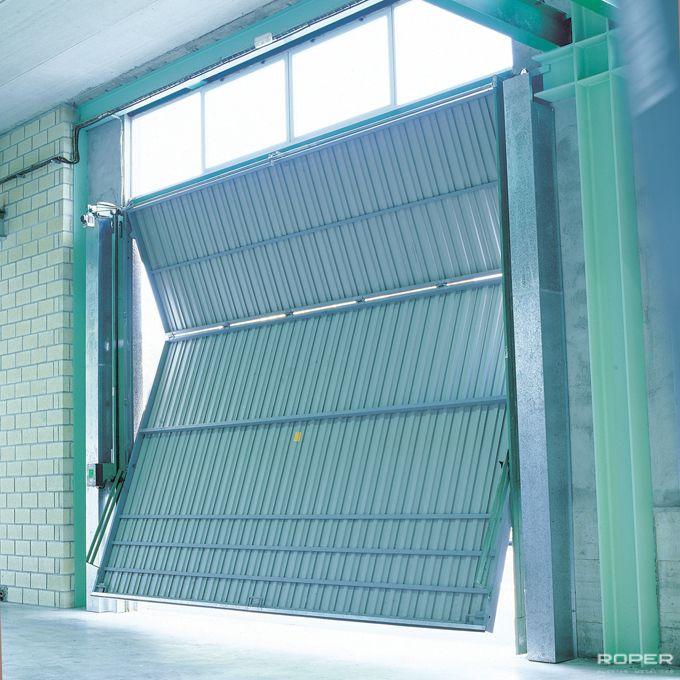 Porte Basculante Industrielle à 2 vantaux