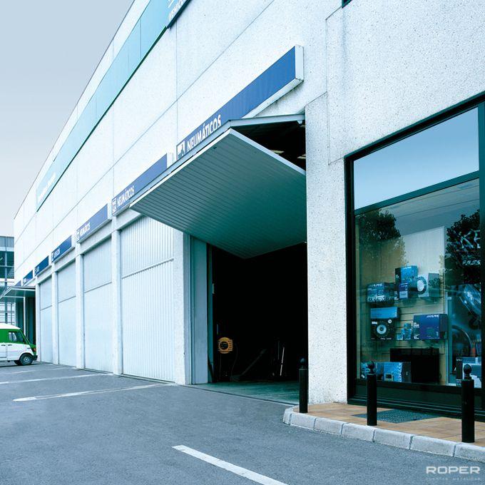 Puerta Basculante 2 Hojas Industrial 1