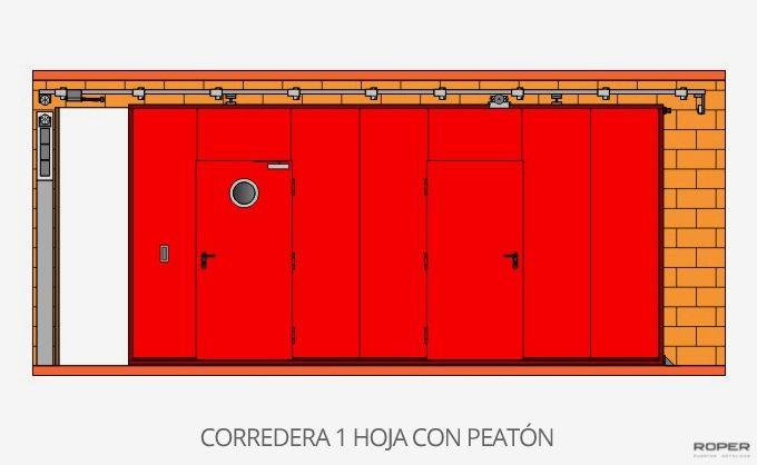 Puerta Corredera Cortafuegos 8