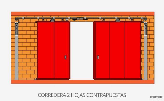 Puerta Corredera Cortafuegos 9
