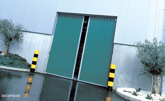 Industrial Slide Doors 2