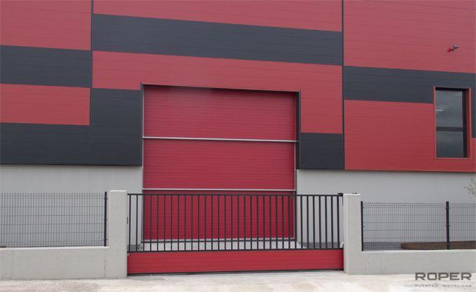 Puerta Guillotina Industrial 4