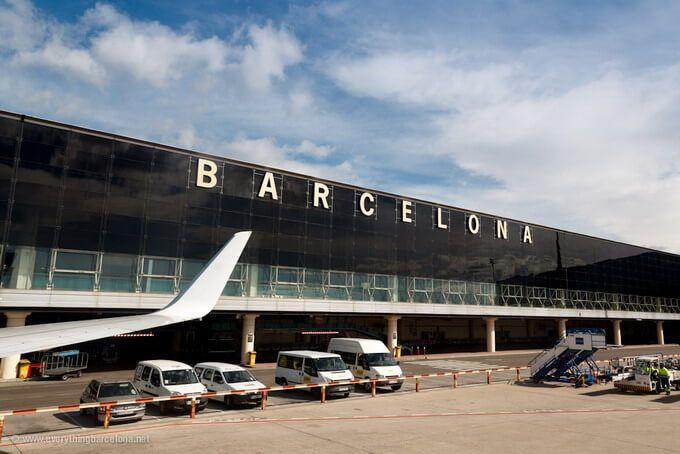 """Aeropuerto """"El prat"""" Barcelona"""