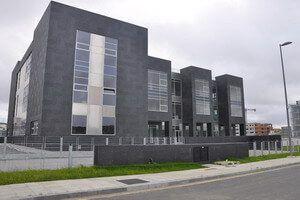 Puertas Roper en el edificio 3000 del PCTCAN